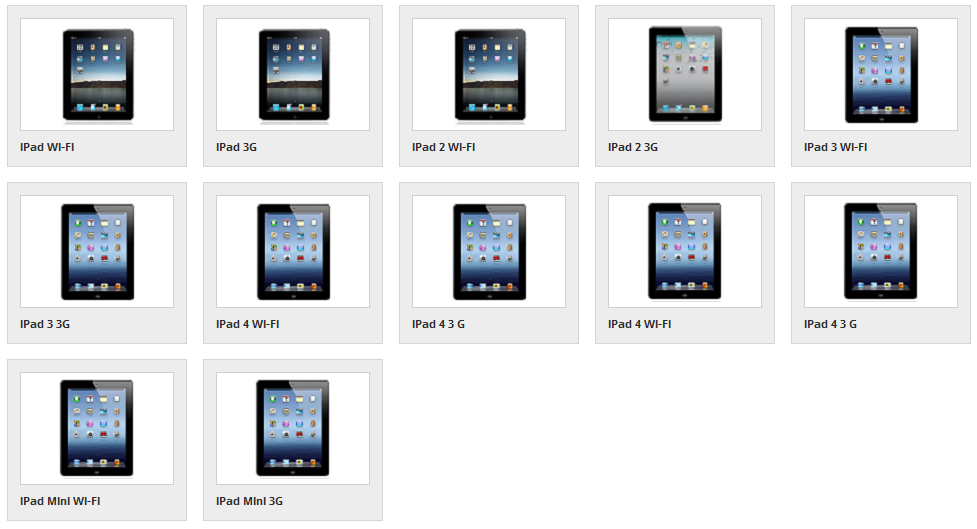 supported ipads